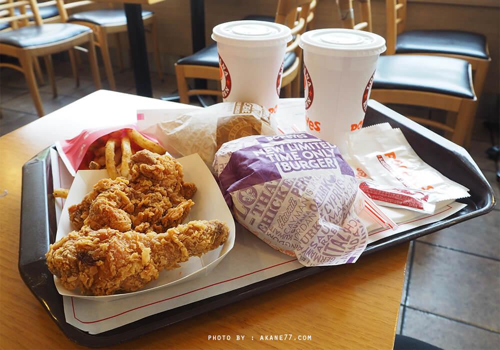 韓國首爾 連鎖炸雞速食 Popeyes;파파이스