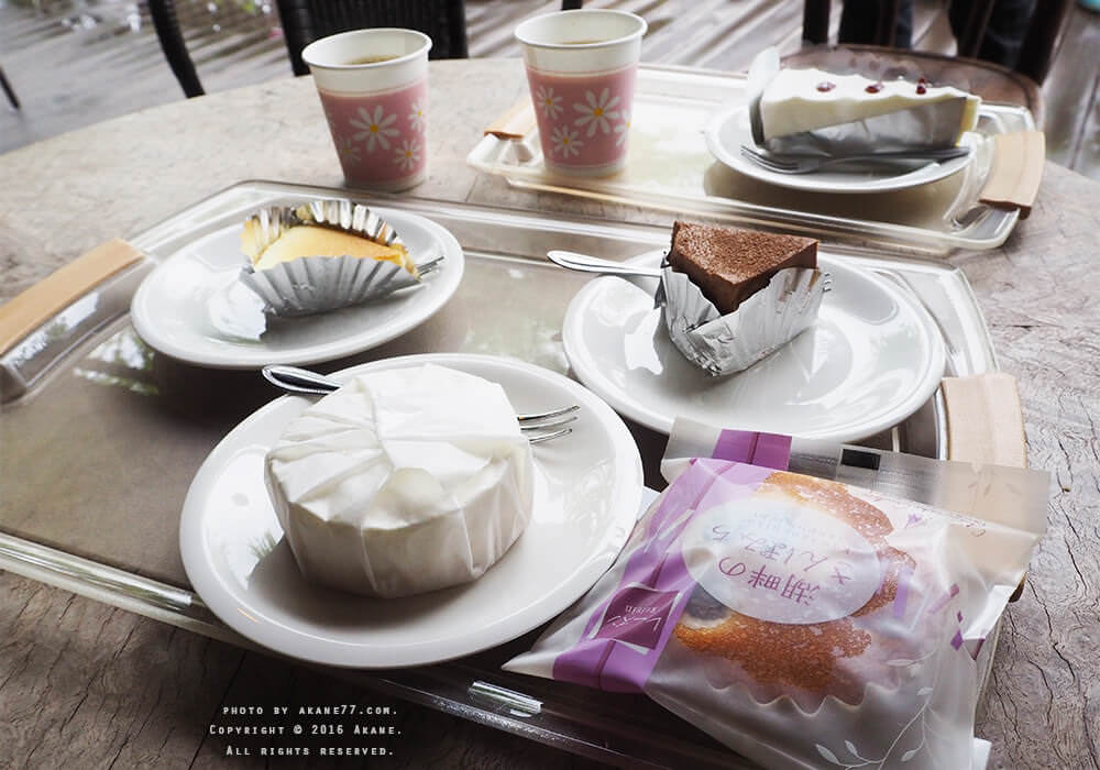 富士山周邊⎮河口湖チーズケーキガーデン 高CP值湖畔下午茶