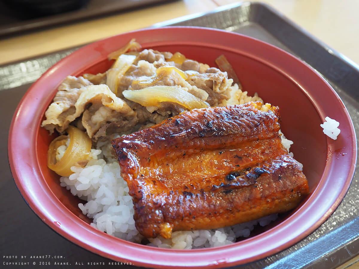 日本連鎖⎮すき家SUKIYA 夏季限定餐點 鰻魚牛丼 / 香辣茄醬牛丼