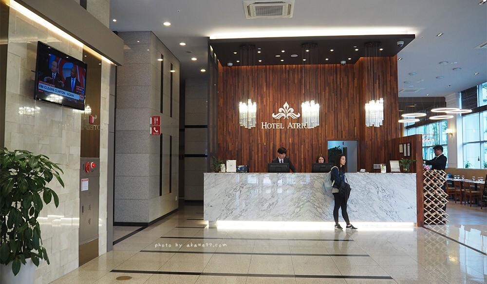 韓國首爾住宿⎮Hotel Atrium中庭飯店 近廣藏市場 鐘路五街站