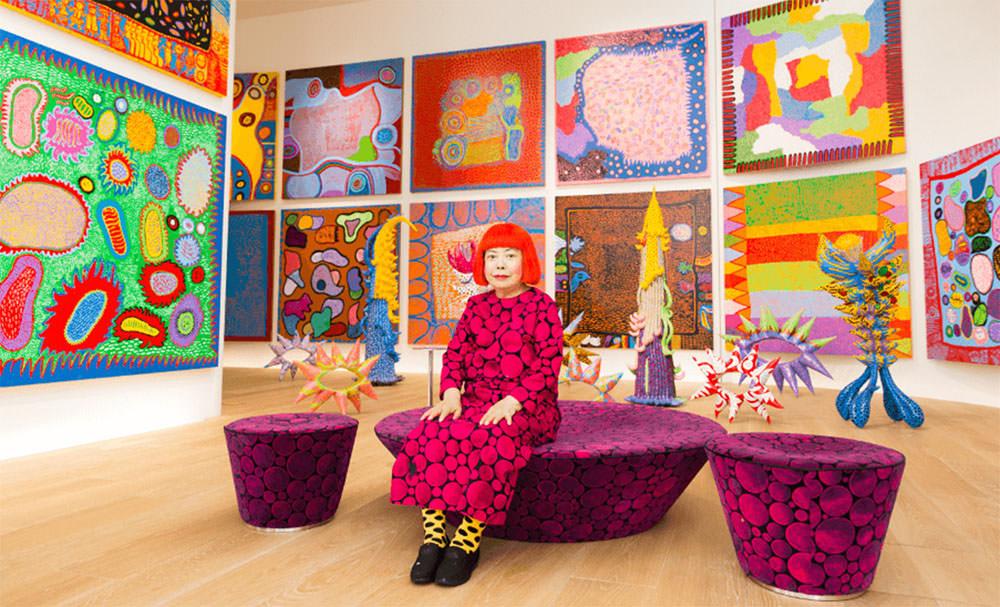 2017年草間彌生日本最新公開個展 再次感受圓點圖騰炫風