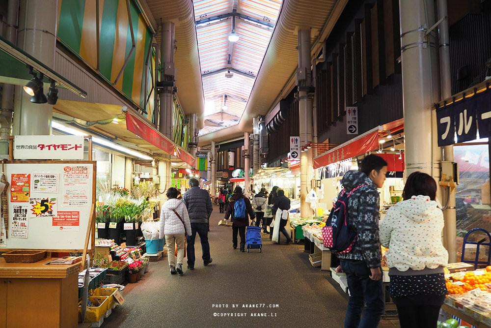 金澤景點⎮近江町市場 不論晴雨都能享受到來自金澤的「新鮮」