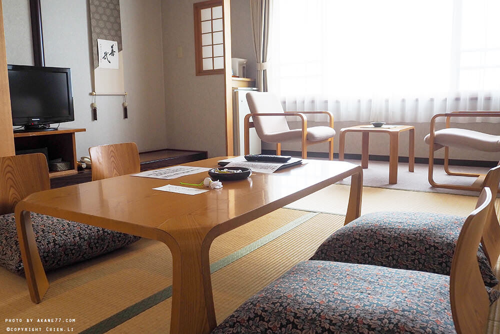 禮文島飯店Hotel REBUN-房間桌椅