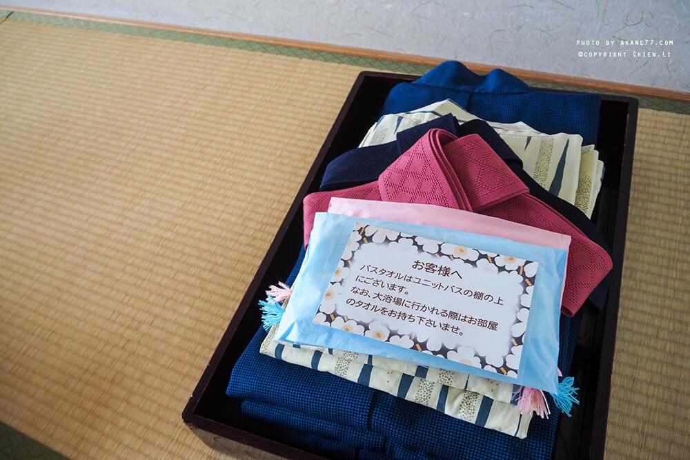 禮文島飯店Hotel REBUN-房間浴衣