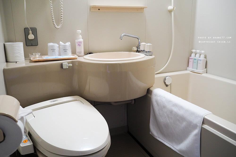 禮文島飯店Hotel REBUN-房間浴廁