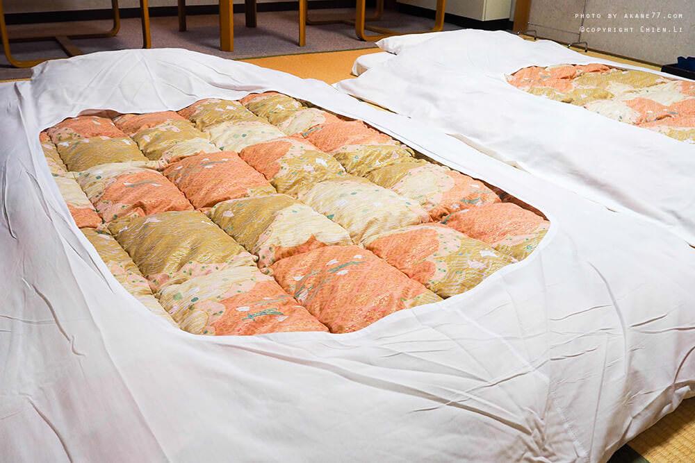 禮文島飯店Hotel REBUN-榻榻米棉被