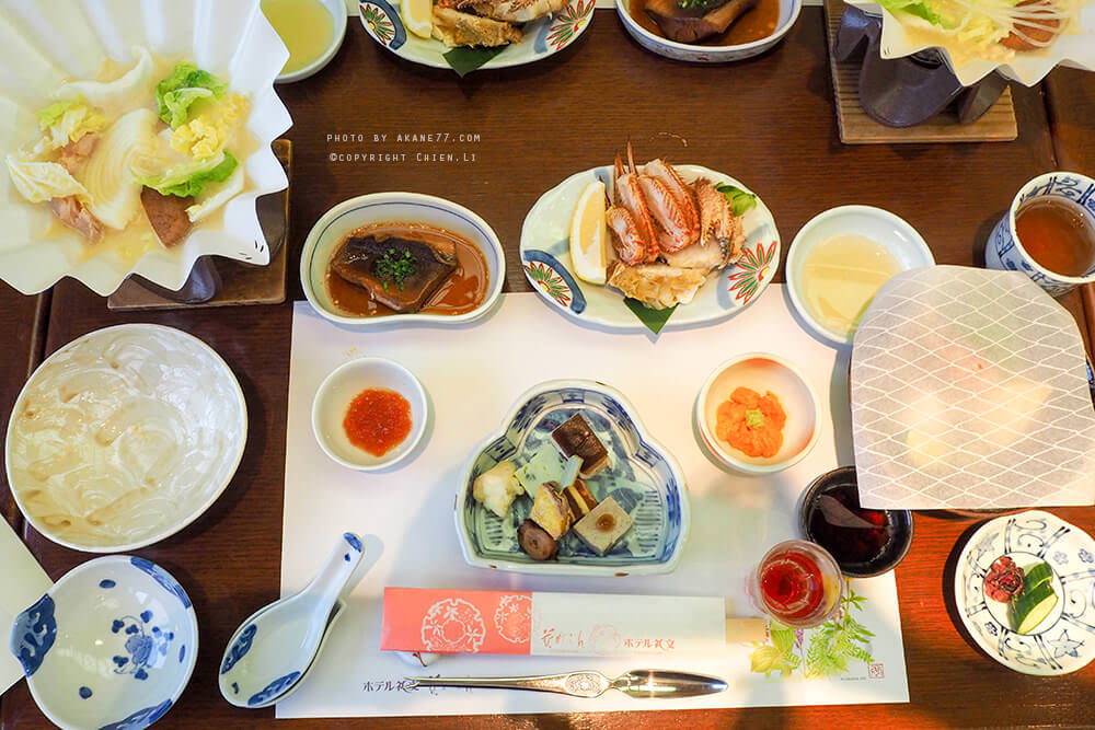Hotel Rebun 禮文飯店晚餐