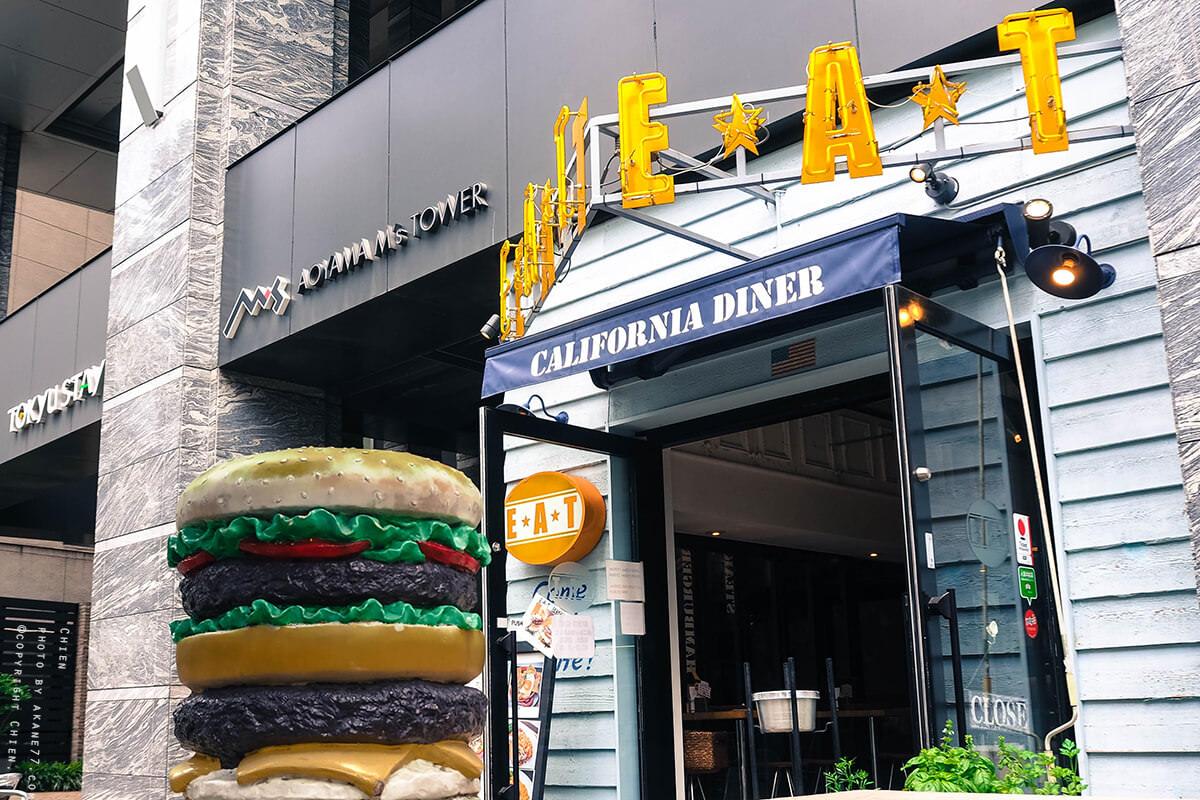 東京青山美食 外苑前站 美式漢堡E.A.T