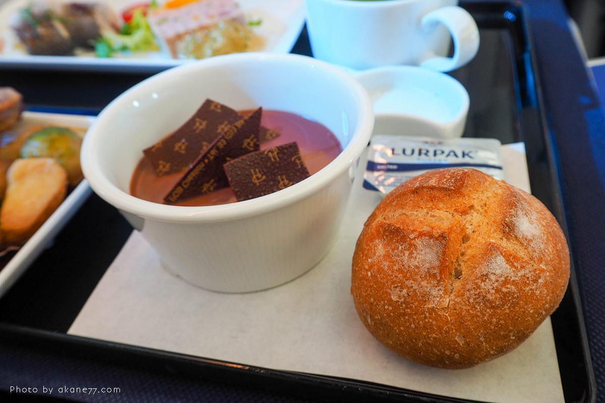 ANA羽田松山 商務艙飛機餐