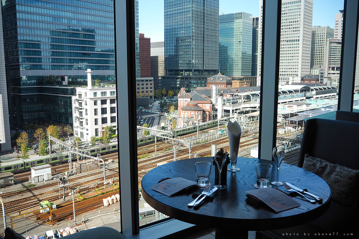 東京四季酒店 MOTIF RESTAURANT & BAR 窗外