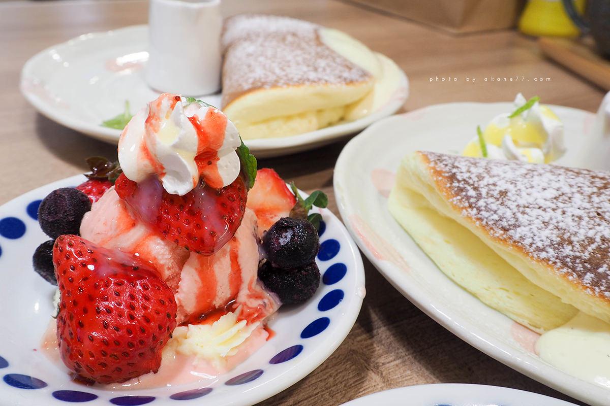 莓果塔冰淇淋鬆餅 屋莎鬆餅屋woosa