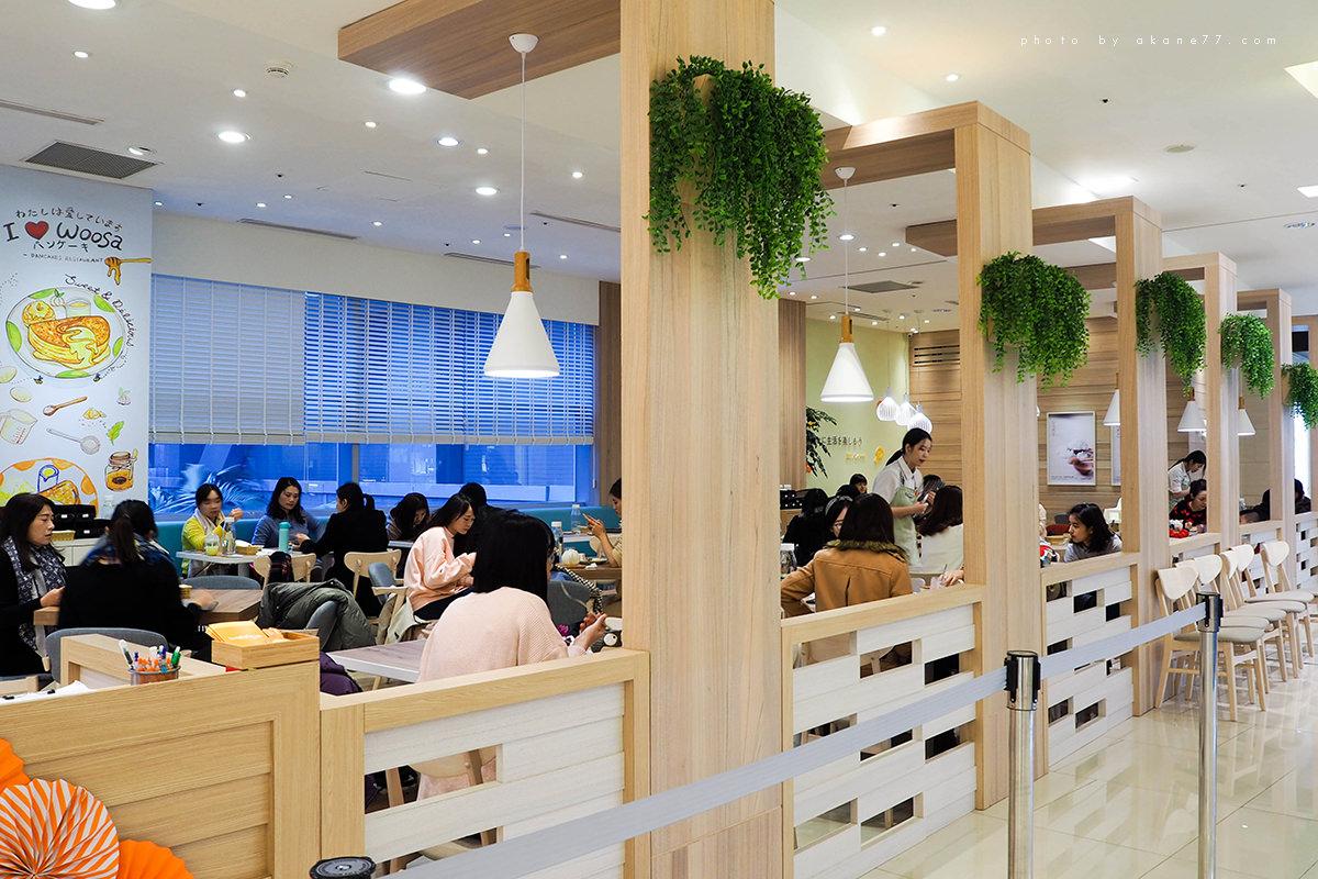 台中下午茶 woosa屋莎鬆餅屋