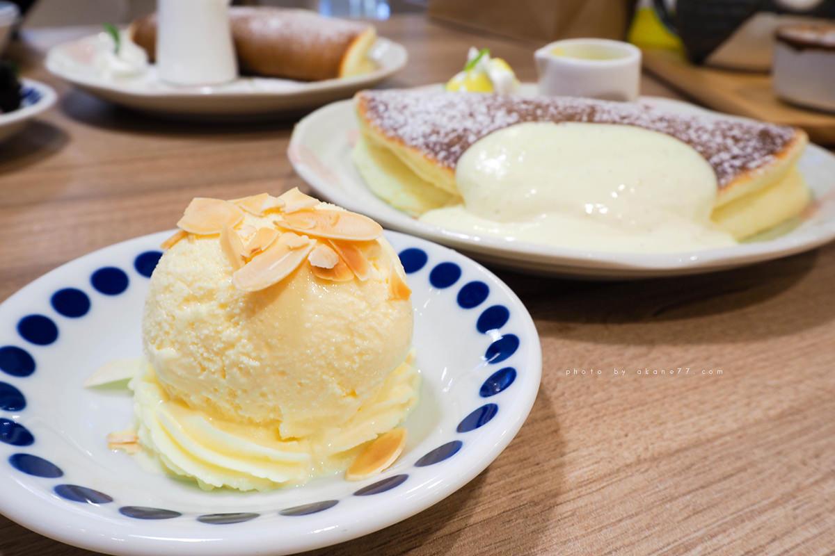 台中下午茶 檸檬冰淇淋鬆餅