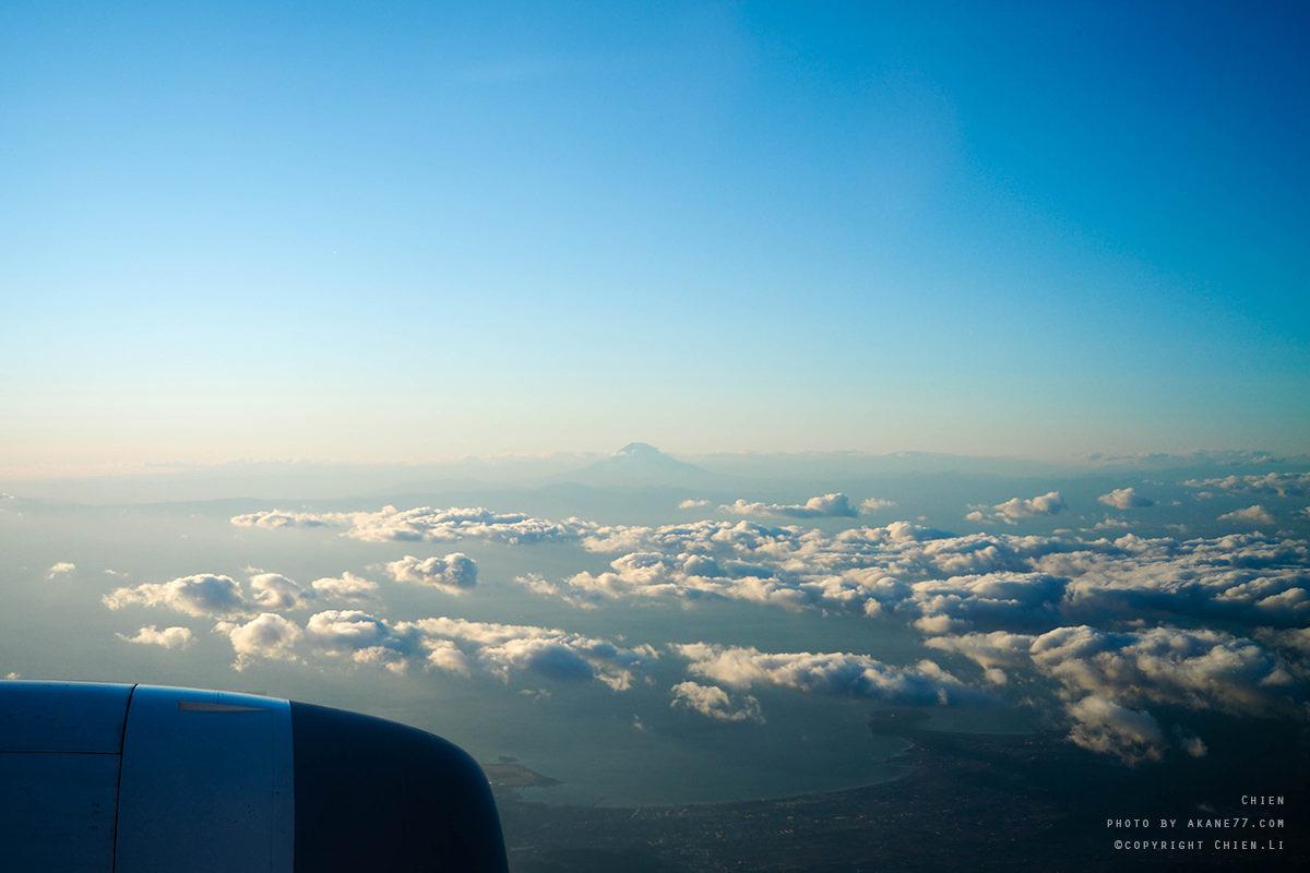 ANA夢幻客機787 商務艙 富士山