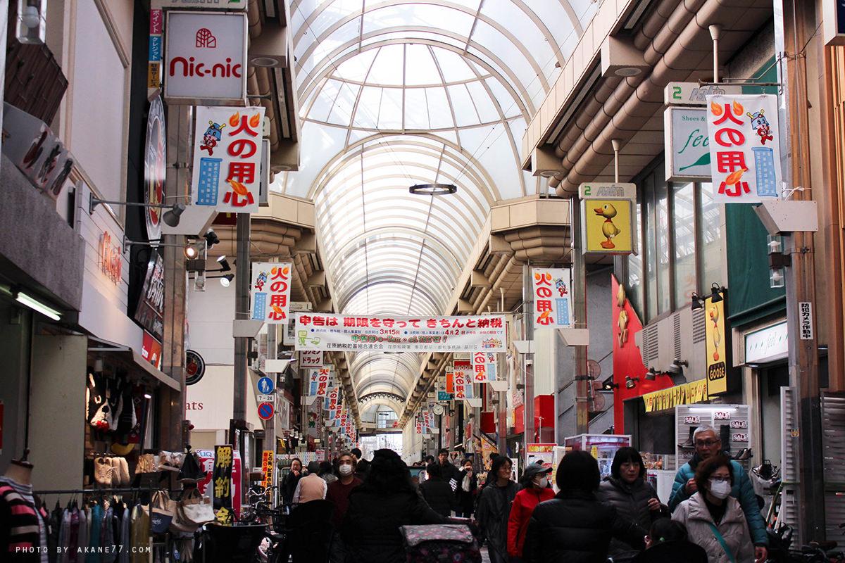 東京下雨逛也ok 武蔵小山商店街