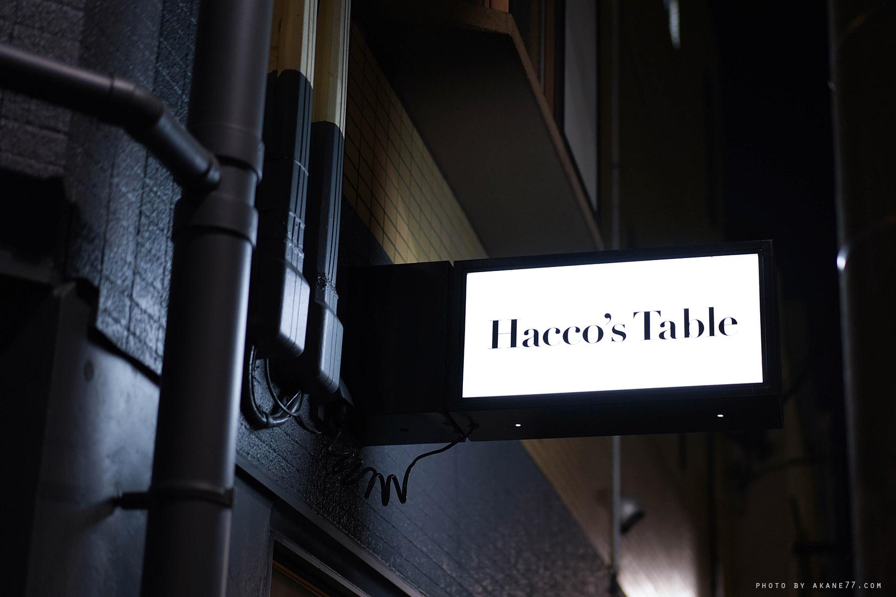 東京淺草美食Haccos table