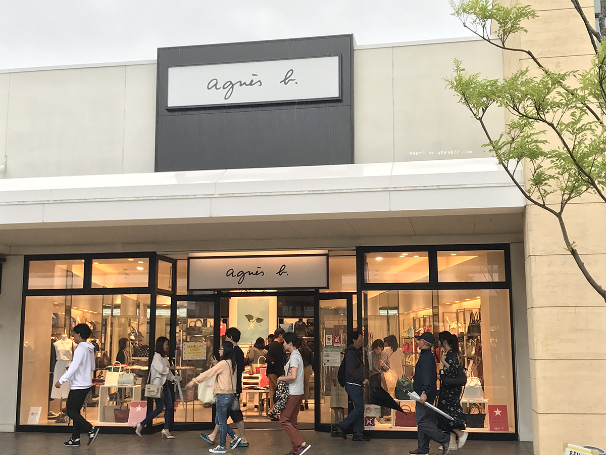 agnes b三井outlet
