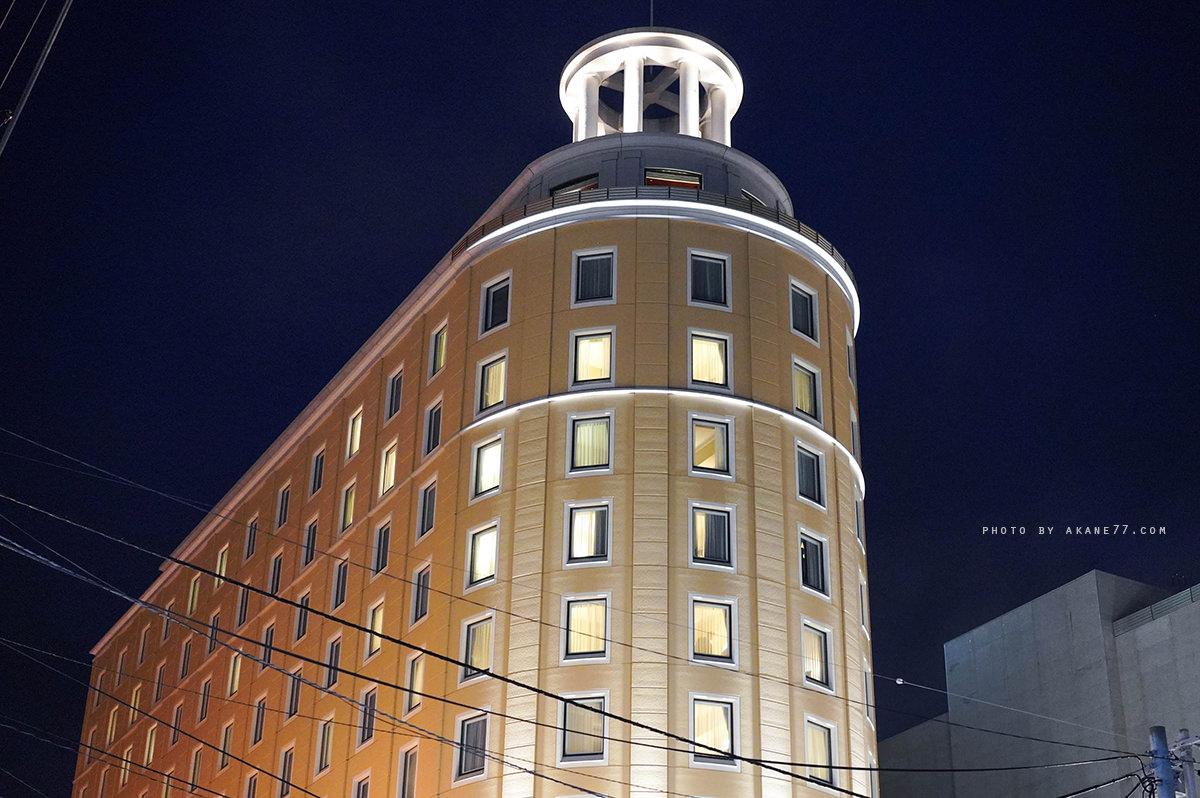 小樽住宿 Authent Hotel Otaru 晚上