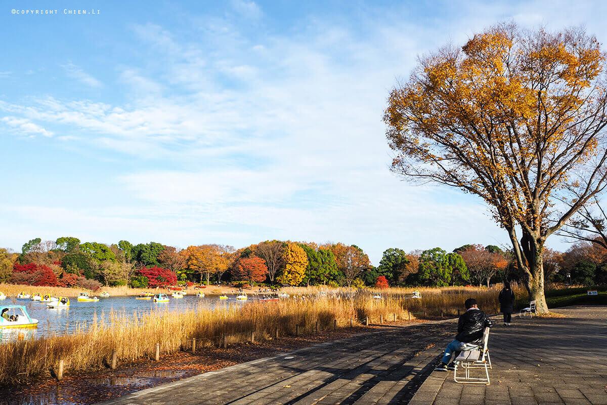 國營昭和紀念公園湖