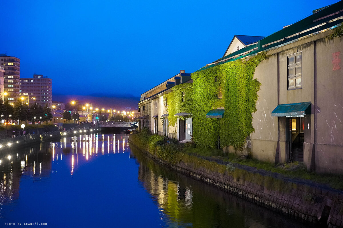 北海道小樽景點 小樽運河