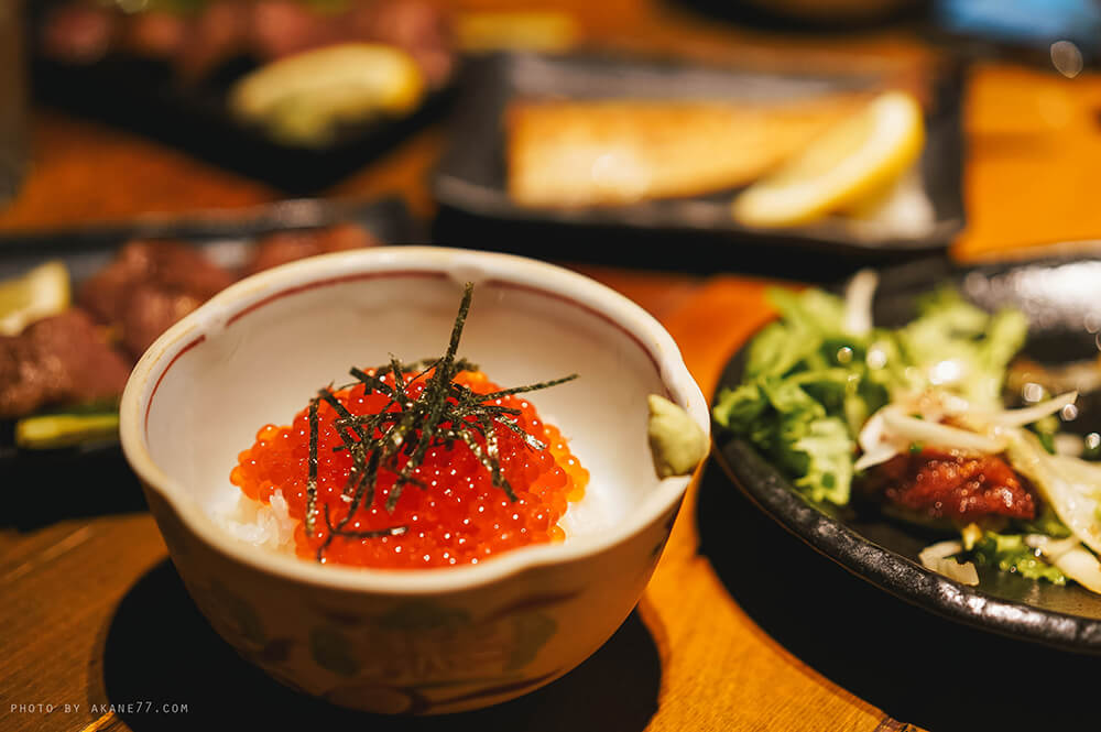 鮭魚卵丼飯