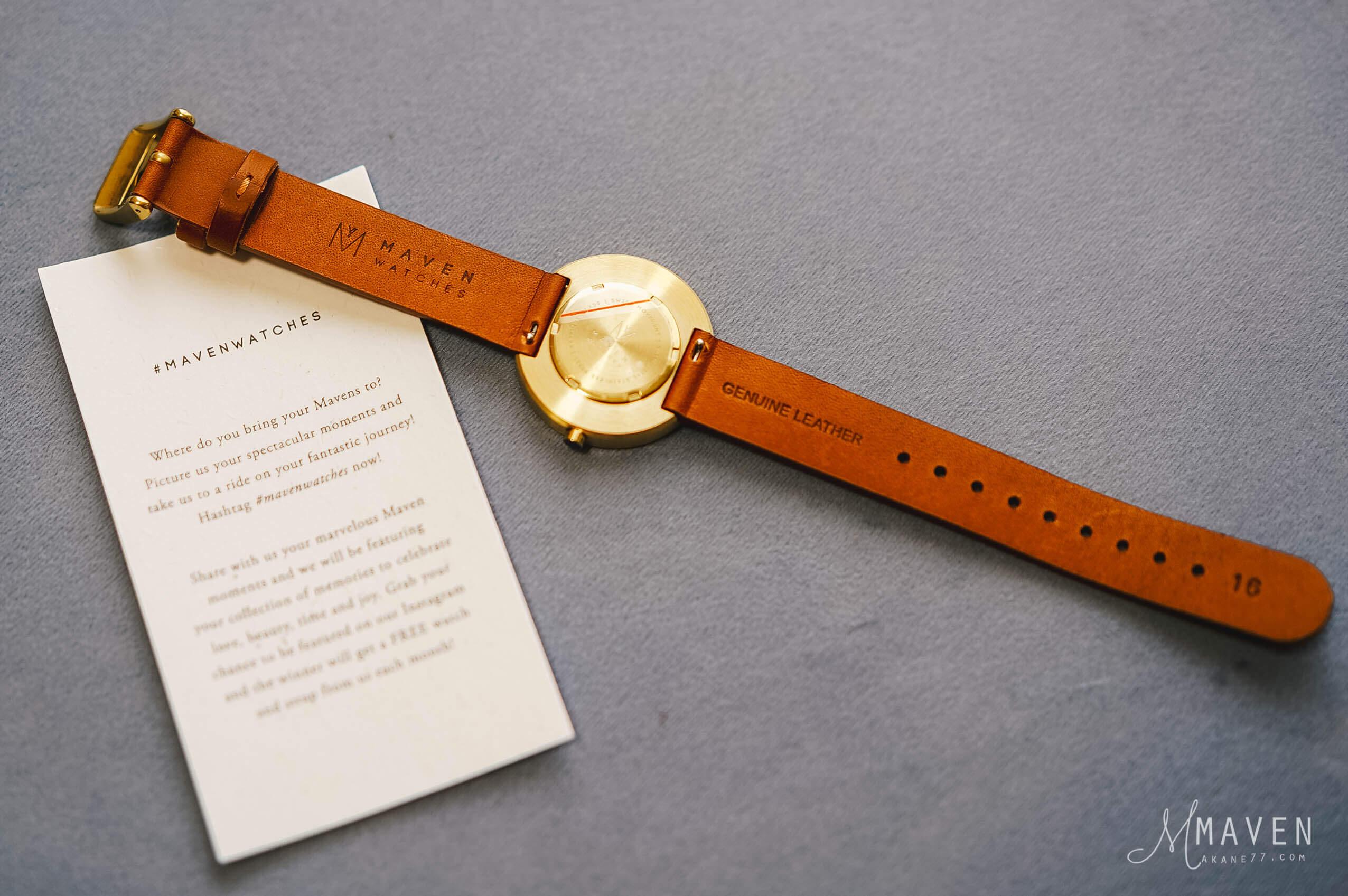 DSC01477-1MAVEN WATCHES 錶帶背面