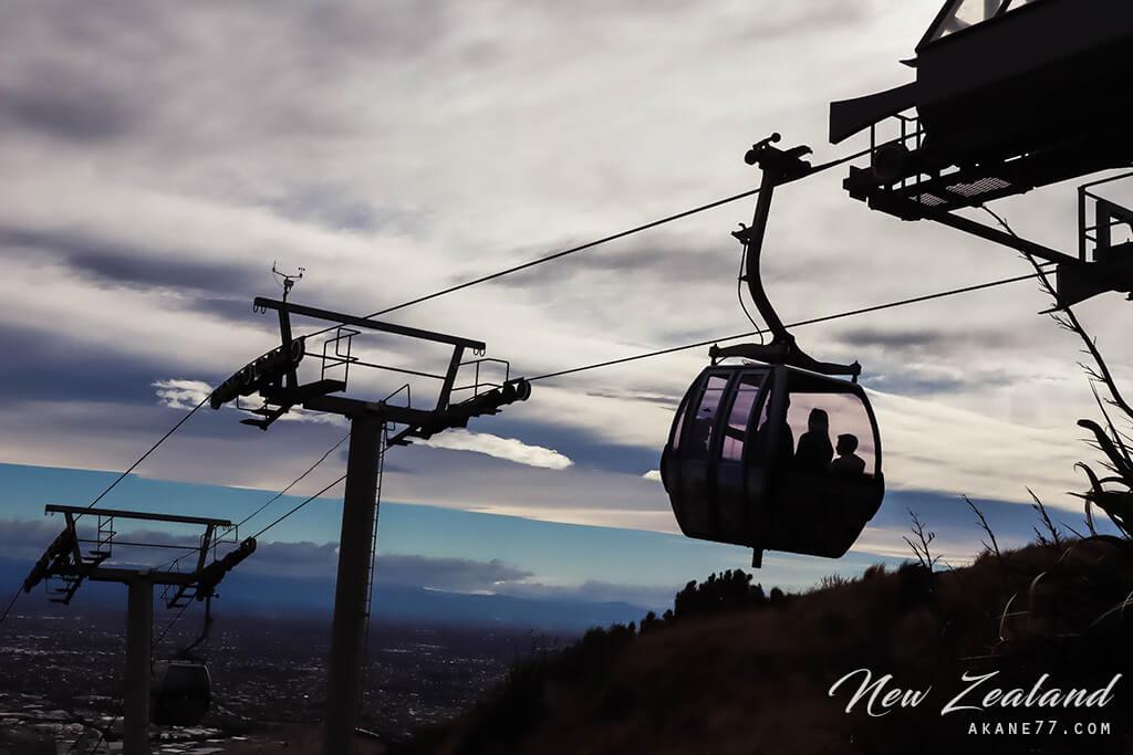 紐西蘭基督城空中纜車