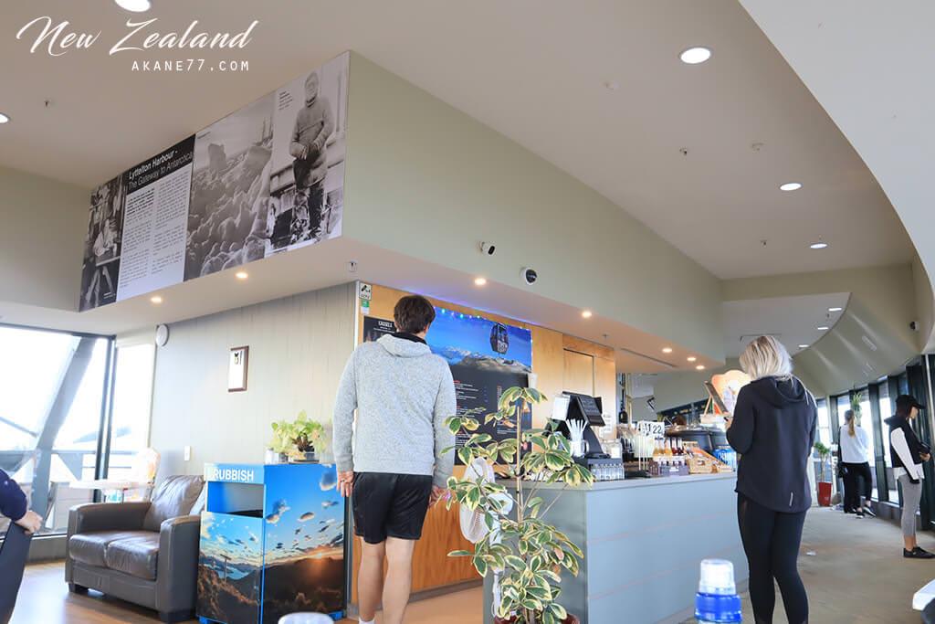 紐西蘭基督城空中纜車 咖啡廳