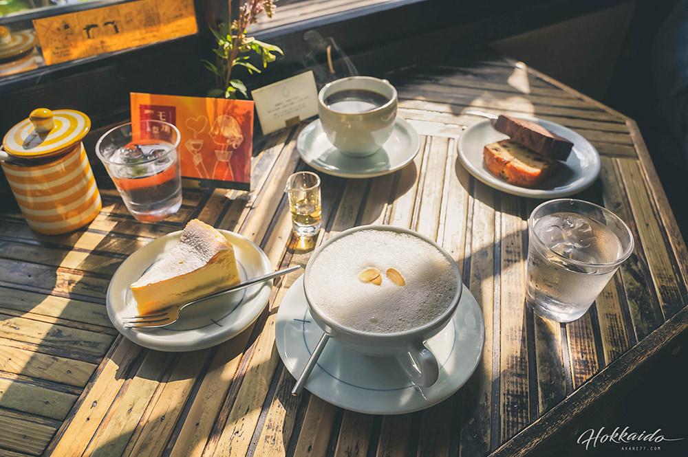 北海道札幌森彥咖啡本店餐點