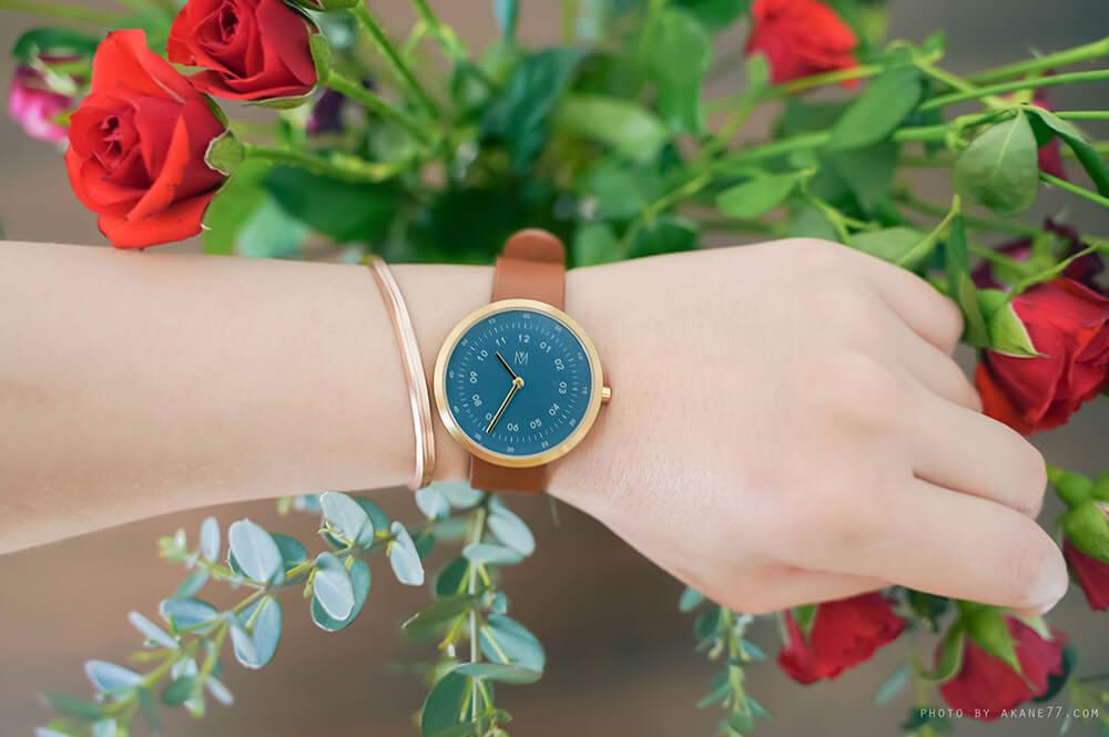MAVEN 手錶玫瑰金配件手環