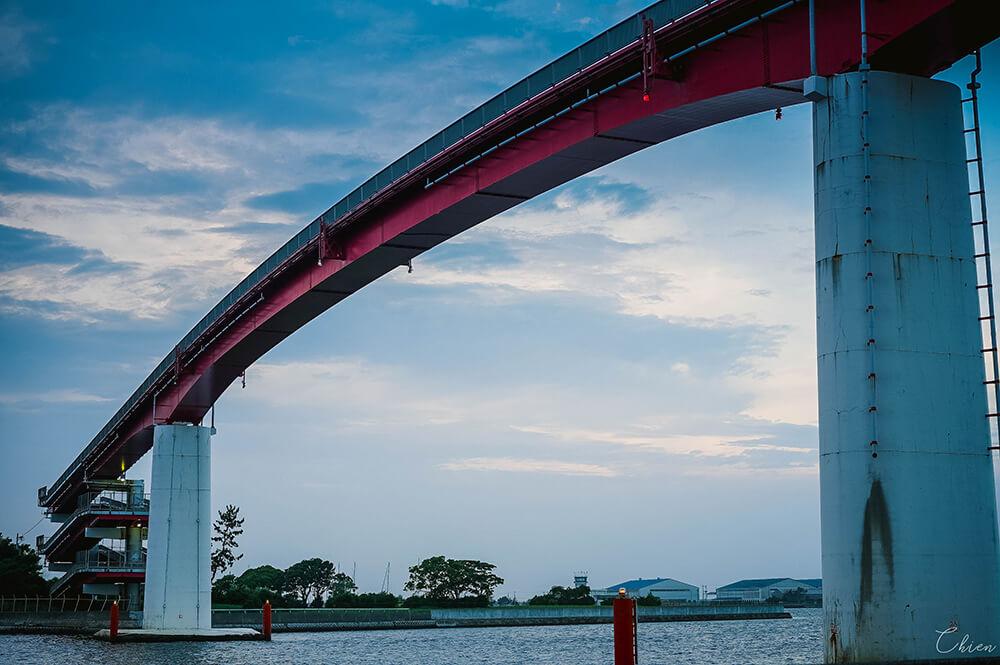 日本千葉景點 木更津中之島大橋3