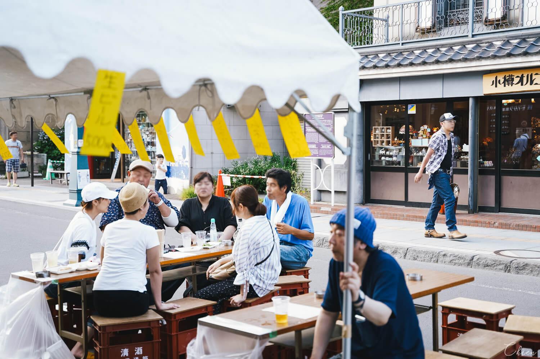 北海道夏日小樽浴衣風鈴祭典