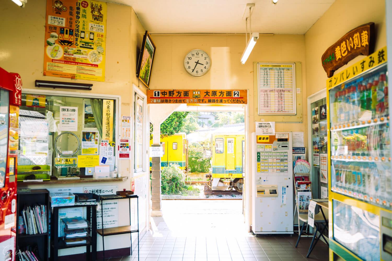 千葉 夷隅鐵道 懷舊車站大多喜站