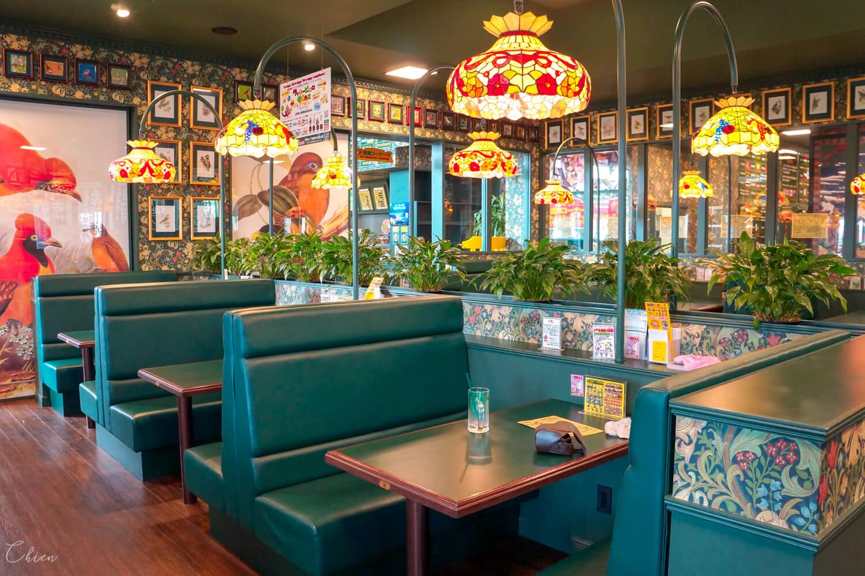 北海道函館必吃美食「幸運小丑漢堡」店內環境