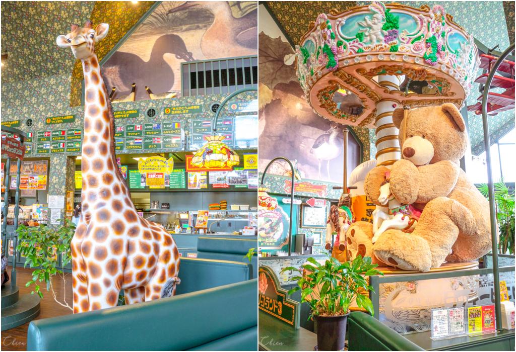 函館必吃美食「幸運小丑漢堡」特色主題樂園