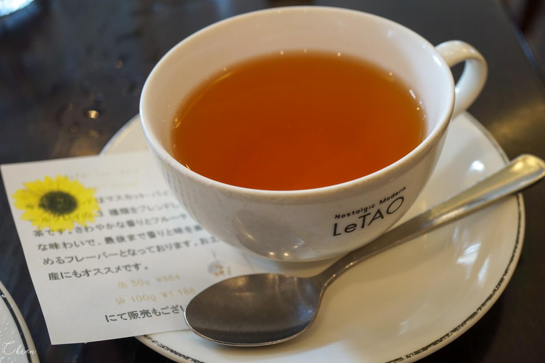 LeTAO 小樽洋菓子舗本店下午茶 紅茶
