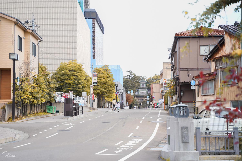 金澤自助旅行 街道風景