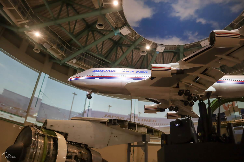 成田航空科學博物館 747