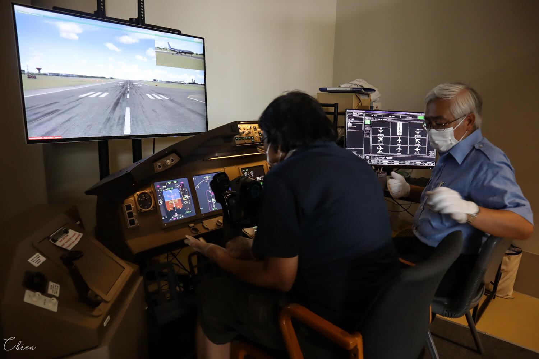 成田航空科學博物館 飛行模擬器777