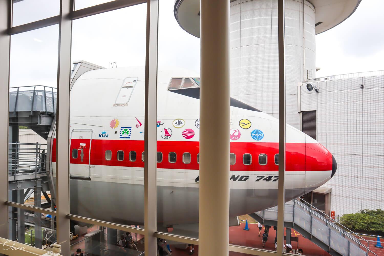 成田航空科學博物館747
