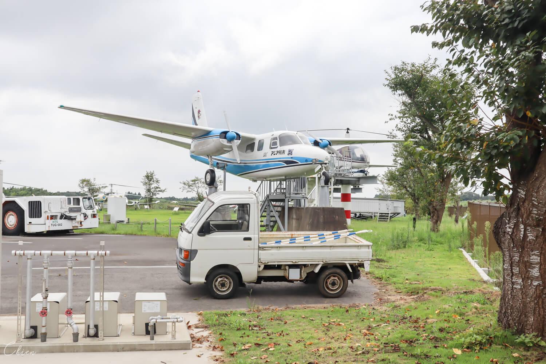日本航空跳蚤拍賣市集 飛機公園