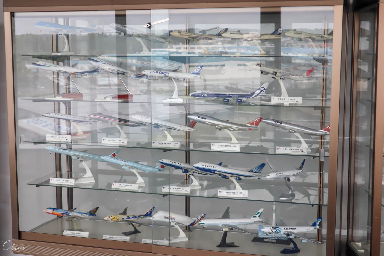 成田航空科學博物館 飛機模型