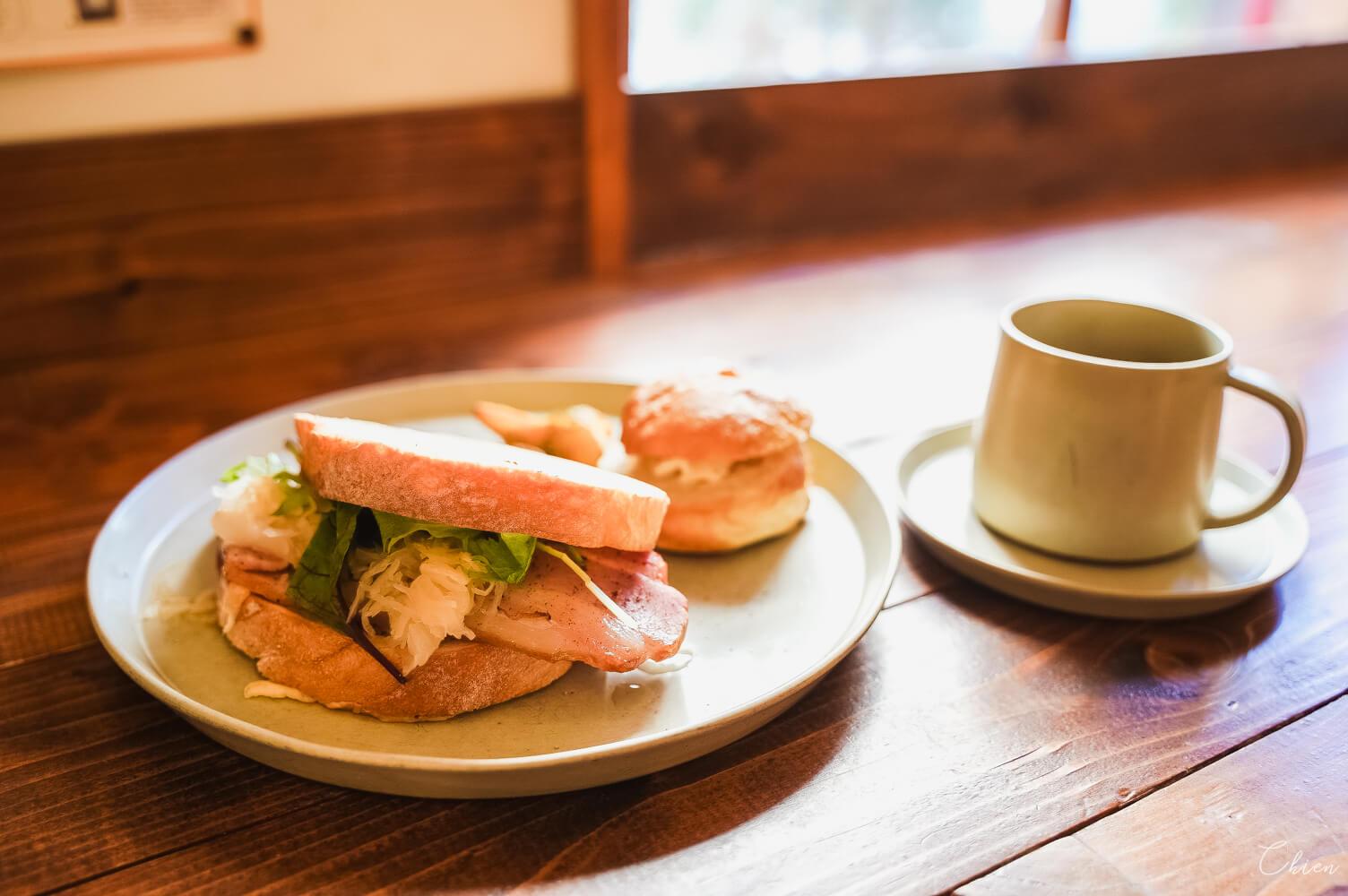 定山溪美食咖啡廳 J・glacée 三明治
