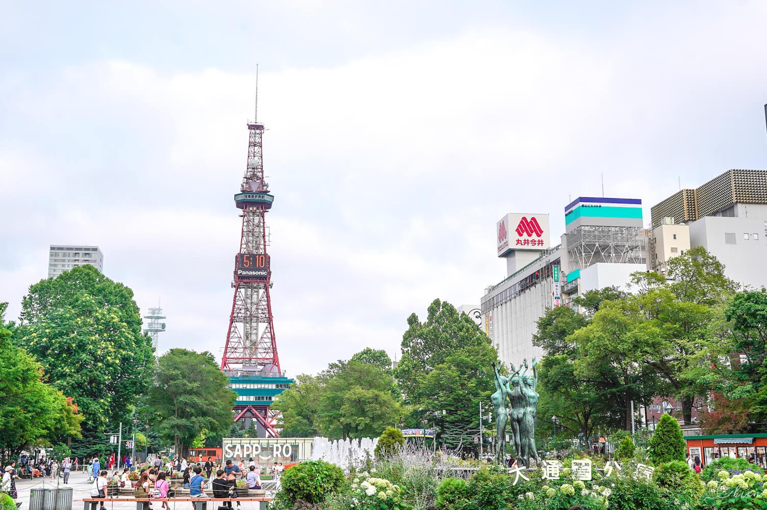 【北海道札幌】大通公園、札幌電視塔 夏日祭典