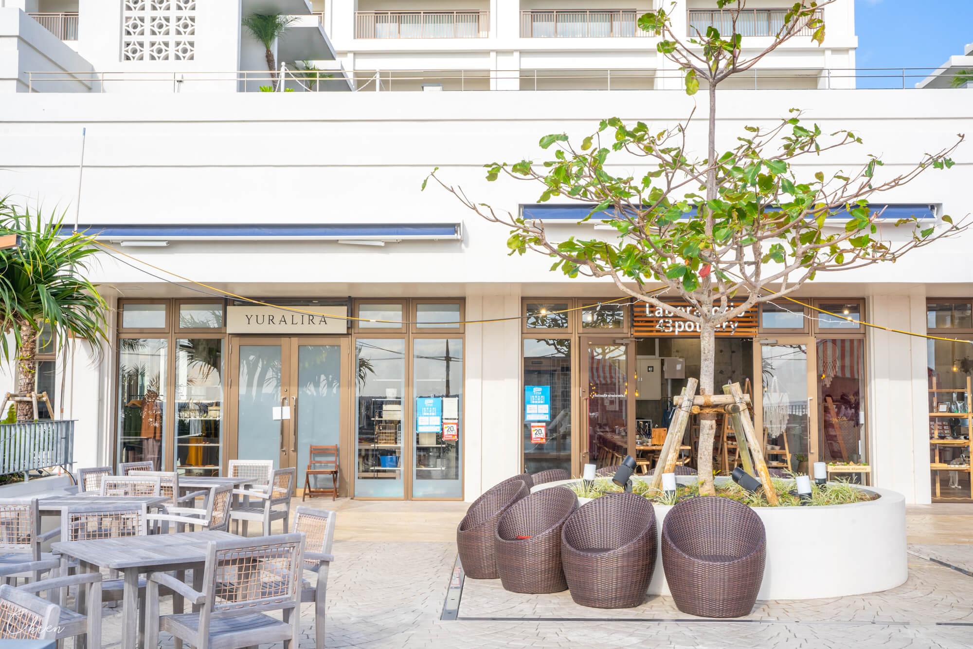 Starbucks 沖繩北部美麗水族館 市集商場