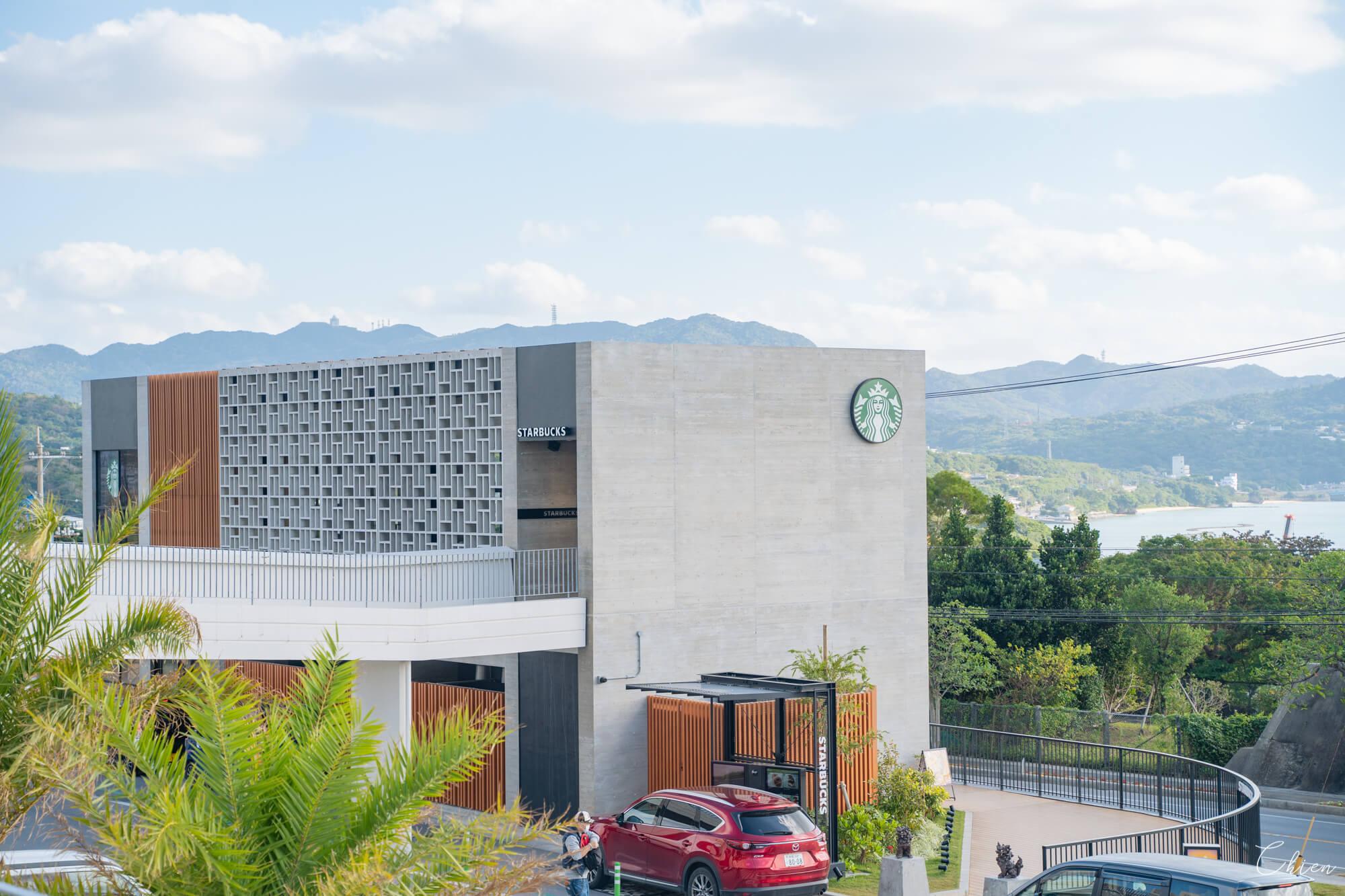 Hanasaki Marche沖繩北部美麗水族館 冰淇淋星巴克咖啡