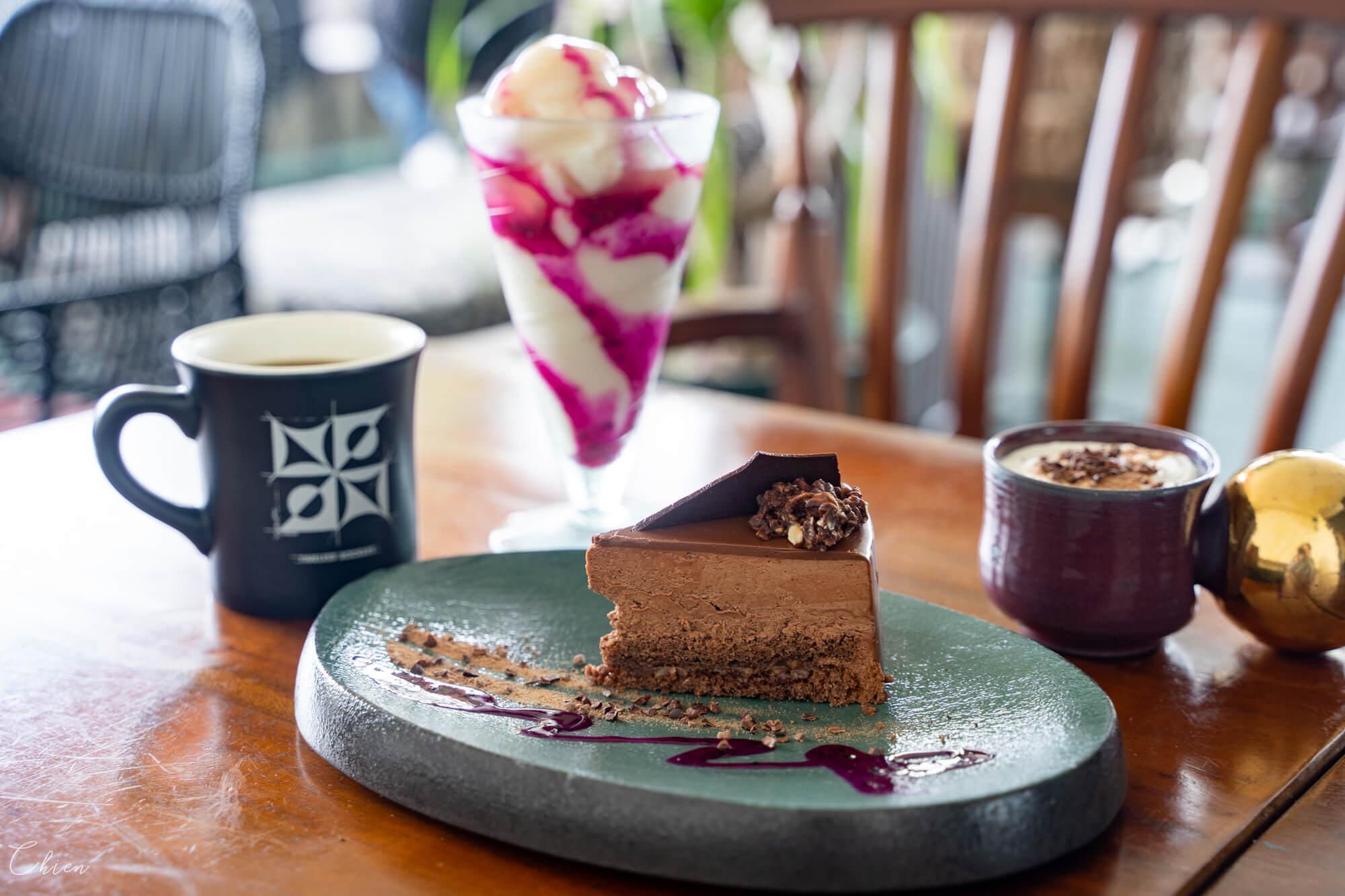 沖繩美國村海景美食 timeless chocolate 巧克力專賣咖啡