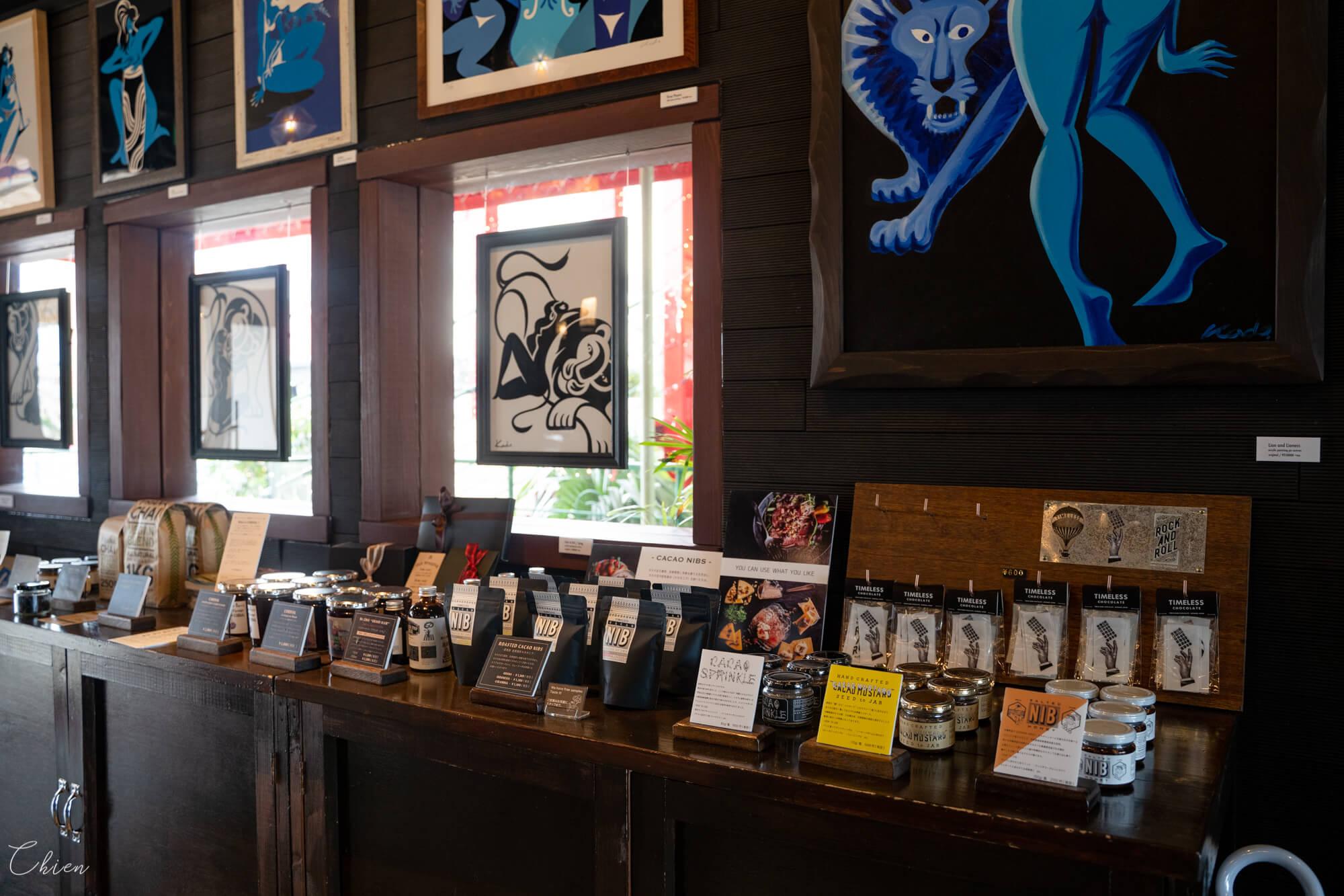 沖繩咖啡Timeless Chocolate巧克力專賣店