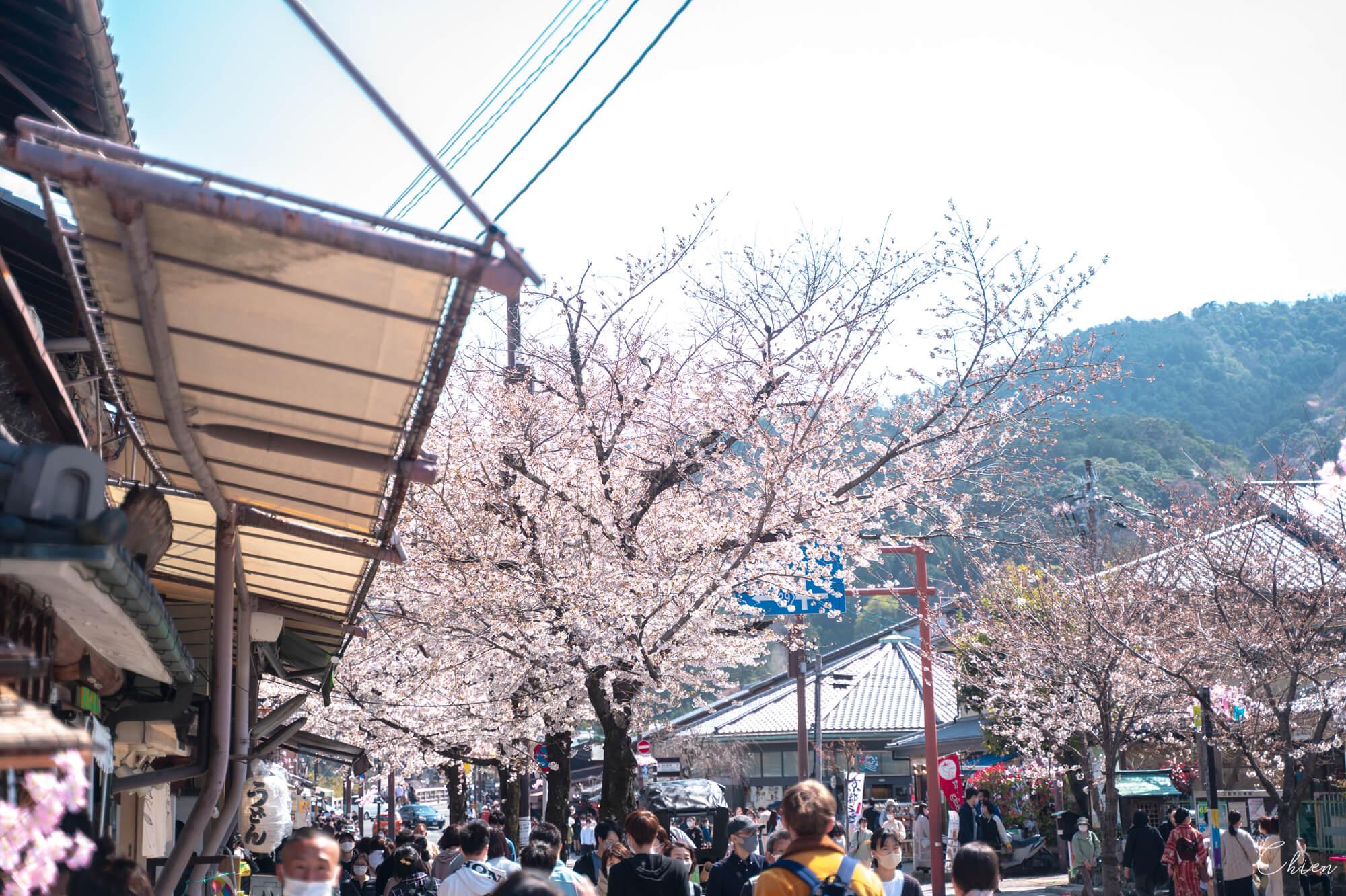 京都嵐山商店街