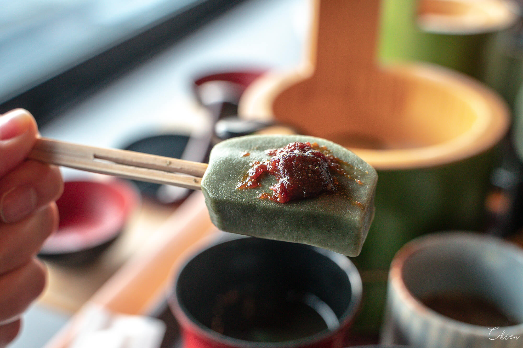 京都嵐山美食「嵯峨とうふ 稲」 田樂